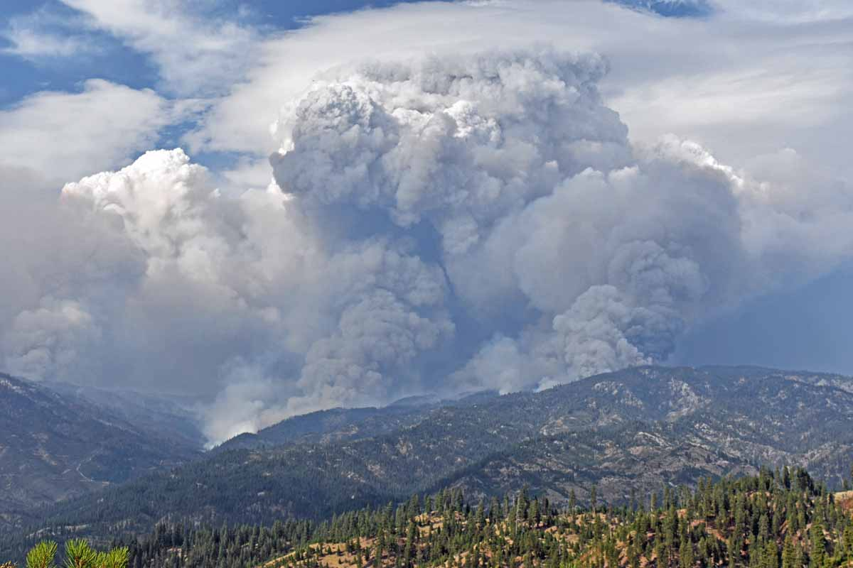 Pioneer Fire in Idaho is one of 5 fires in US with over 1,000 firefighters assigned
