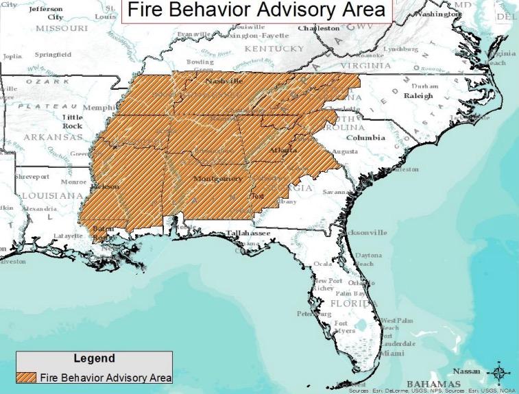 wildfire fuels advisory