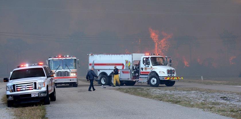 Polk County Florida Fire