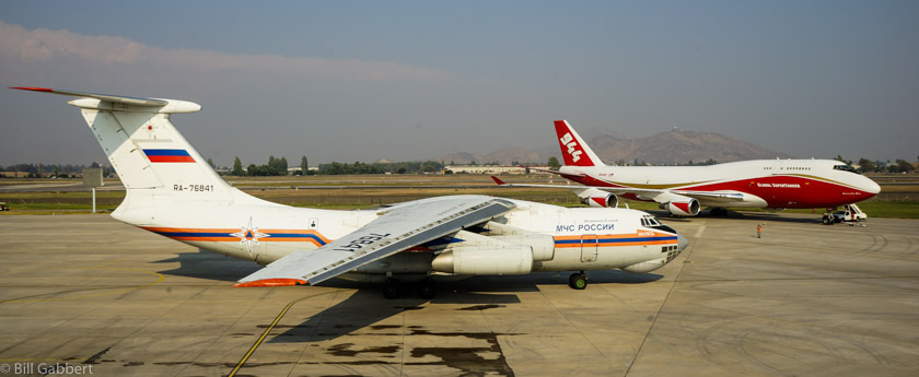 IL-76 747 Supertanker air tanker chile