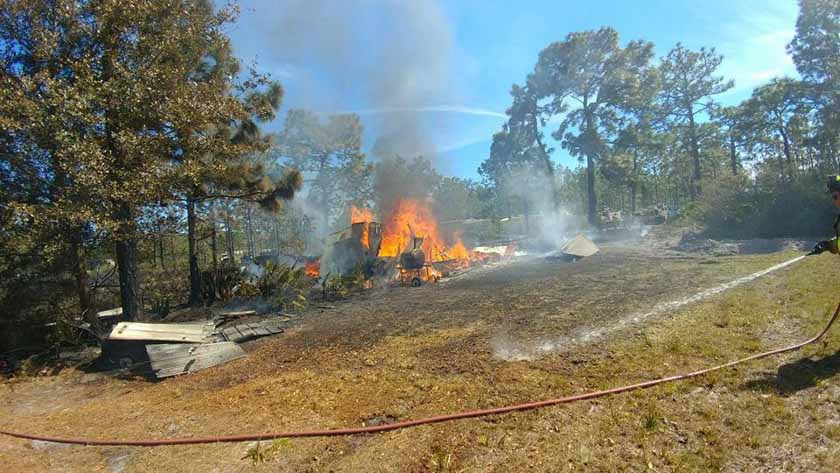 Florida Fire Map 2017.Wildfire In Polk County Florida Destroys 12 Homes Wildfire Today