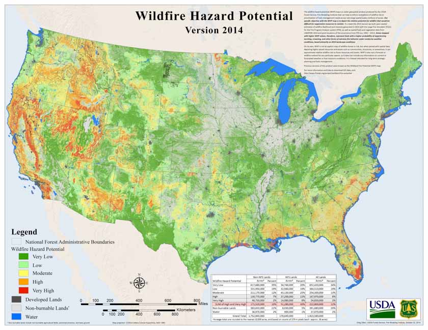 in looking at two other states alabama was given an f in wildfire preparedness while california earned an a