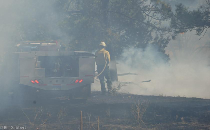 smoke firefighter
