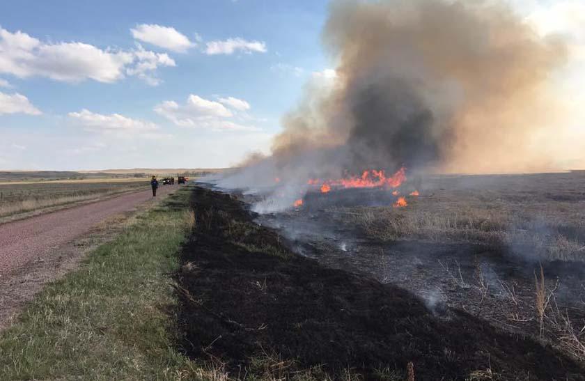 prescribed fire lacreek national wildlife refuge