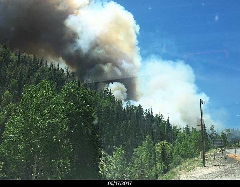 Wildfire forces evacuation of Brian Head, Utah