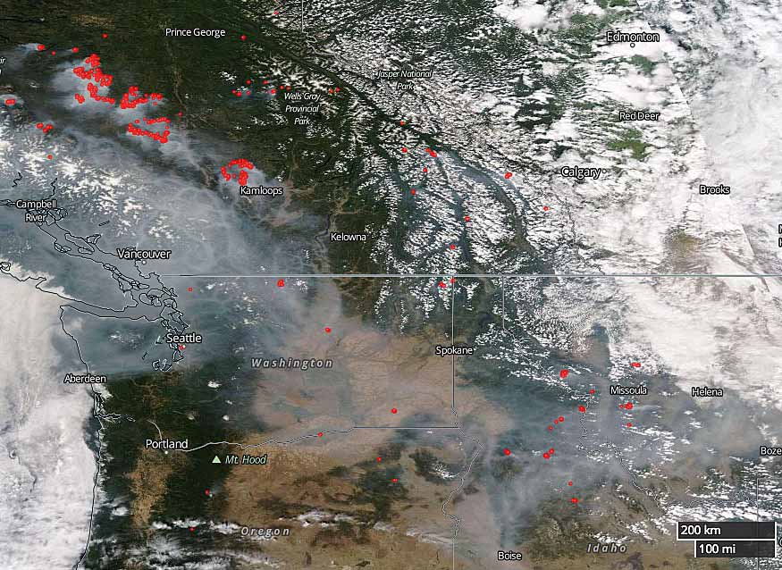 Wildfire smoke and air quality August 10 2017 Wildfire Today