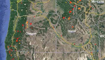 Firefighter Hand Crews Are Deployed On Fires In The United - Map of us fires