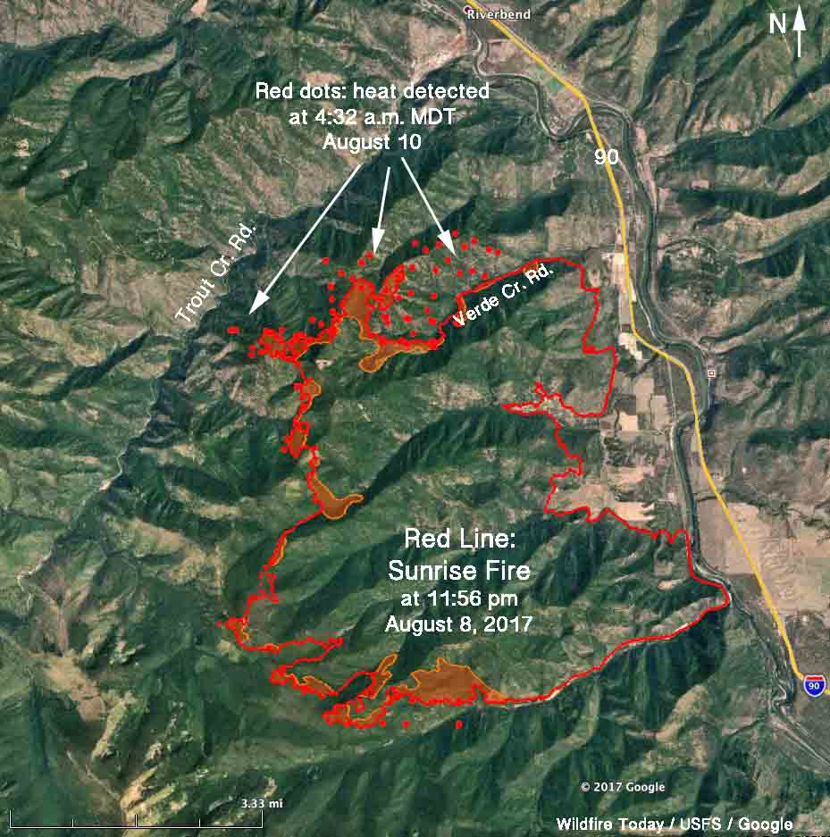 More Evacuations Ordered For The Sunrise Fire In Western Montana