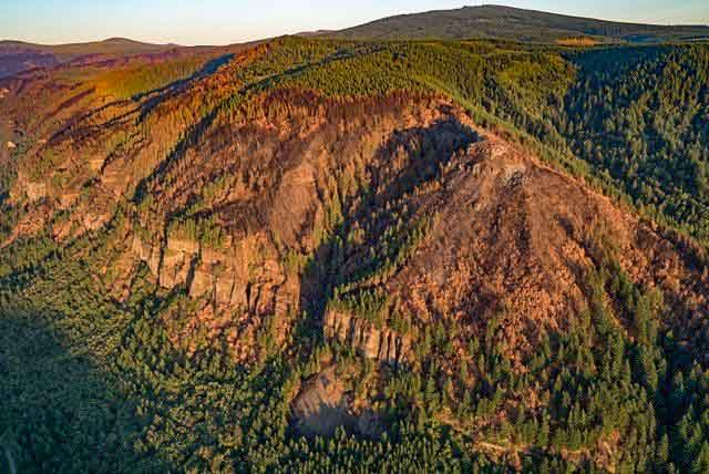 Eagle Creek Fire Columbia River Gorge Oregon