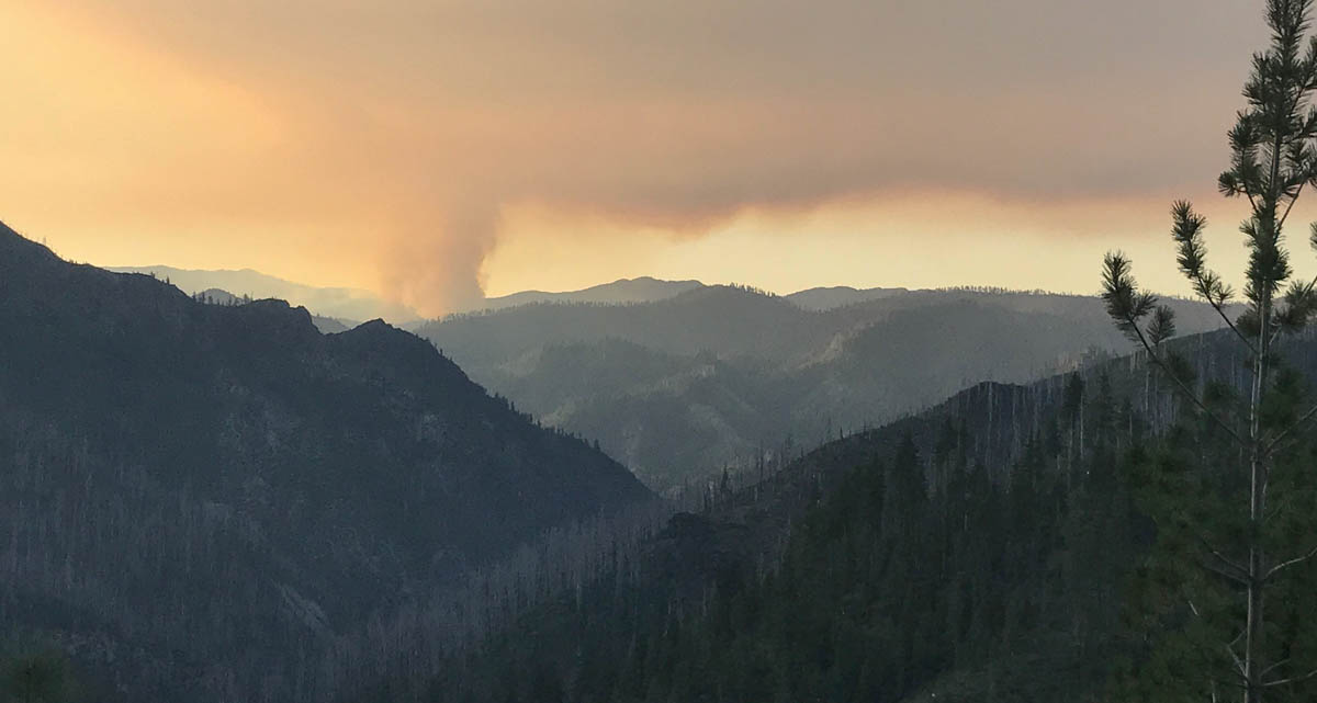 Rain and snow affect some fires in the Northwest — but not all
