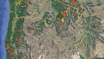 Maps Of Wildfires In The Northwest US Wildfire Today - Us wildfires google map