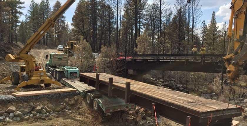 Parker 2 Fire bridge burned replace