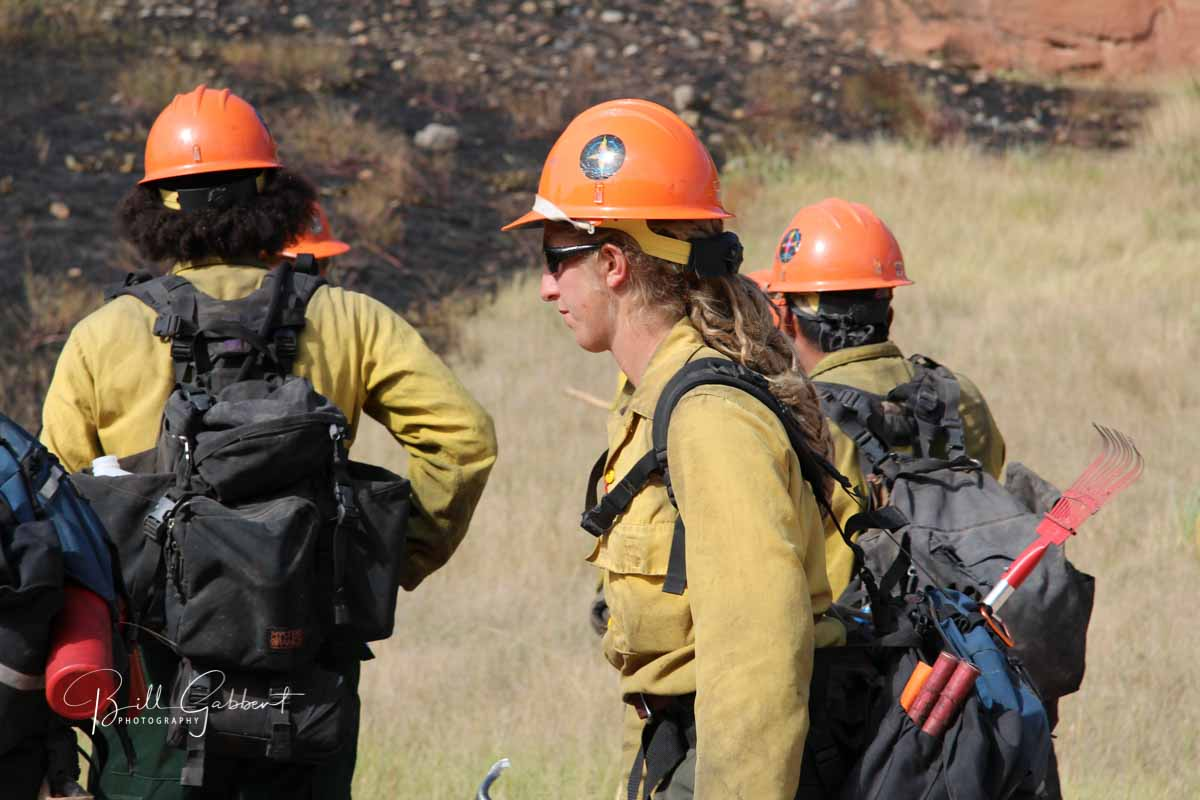 Not all wildland firefighting gear works well for women