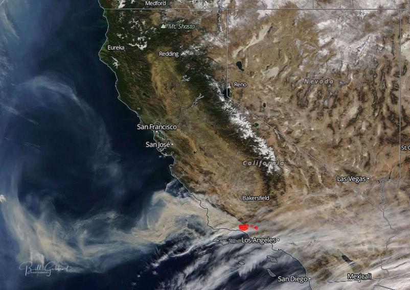 Thomas Fire smoke air quality