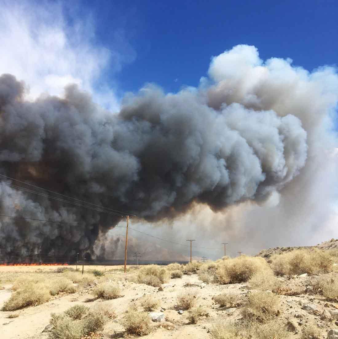 Map Moffet Fire