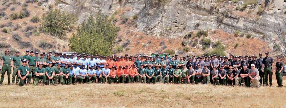 Six hotshot crews