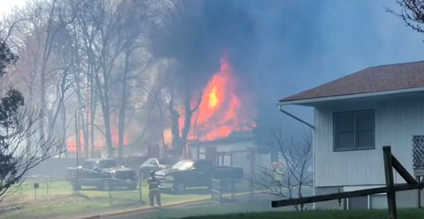 Wildfire destroys 27 structures in Catskill Mountains