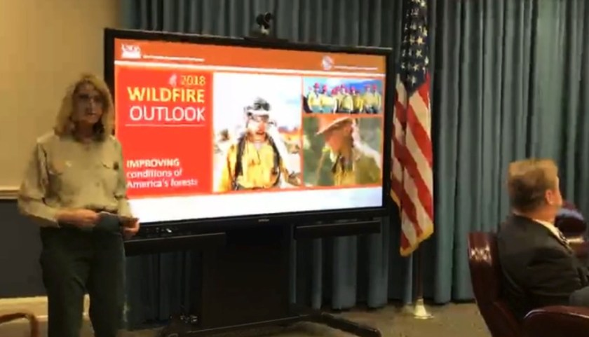 wildfire outlook 2018