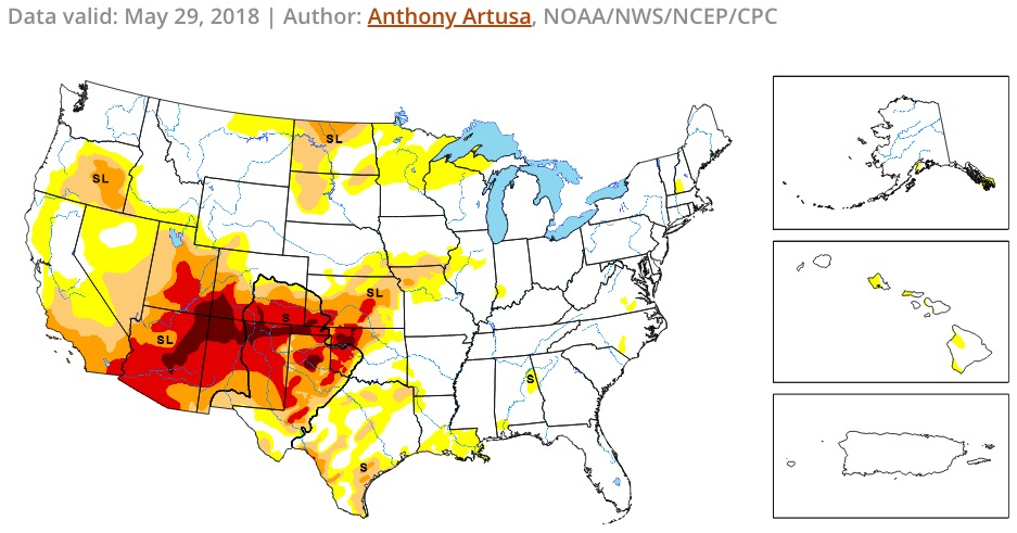 Wildfire potential, June through September - Wildfire Today