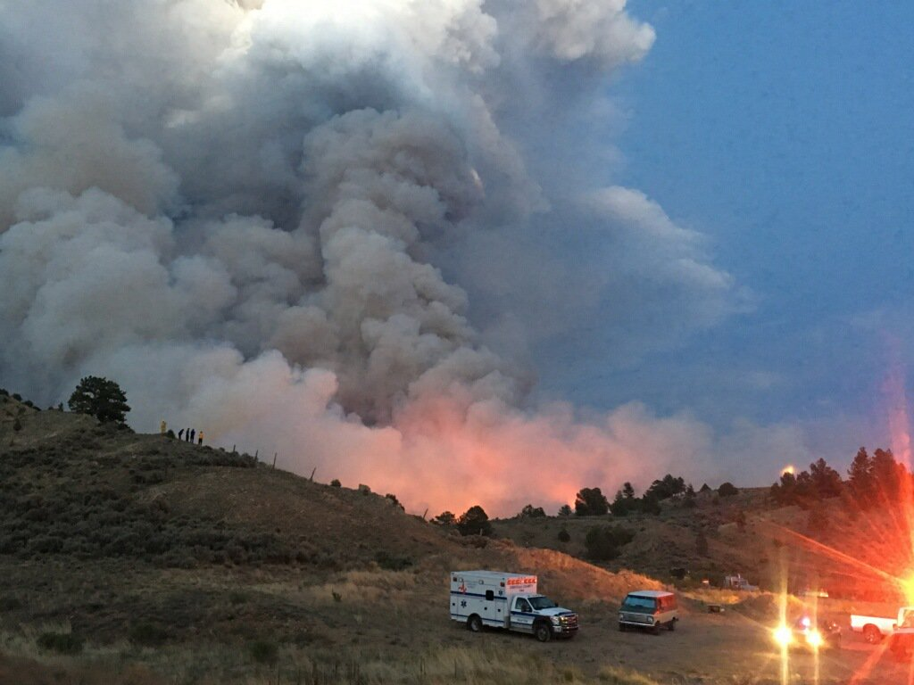 Structures lost as Spring Creek Fire in southern Colorado burns 4,000 acres