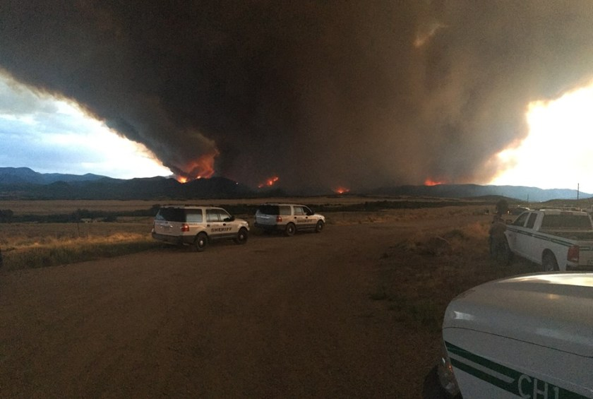 Spring Creek Fire
