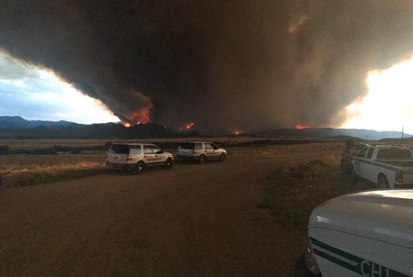 Spring Creek Fire