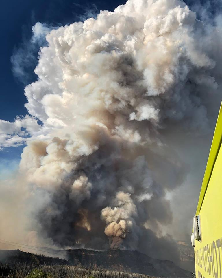 Trail Mountain Fire