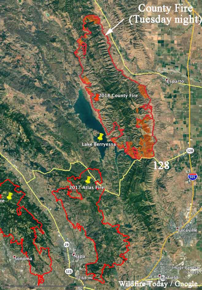 county fire map