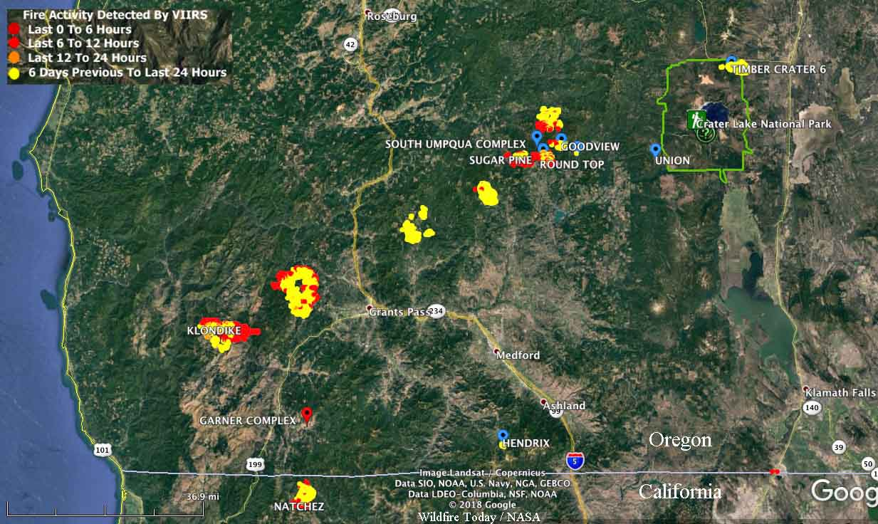 Update On Southwest Oregon Fires Wildfire Today