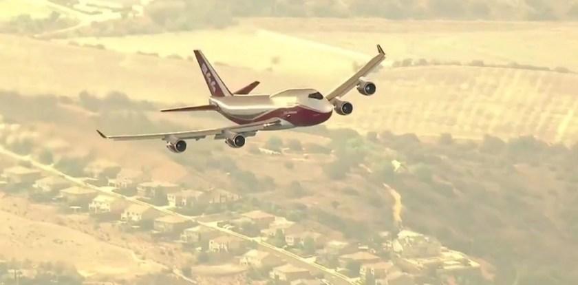 747 Holy Fire California