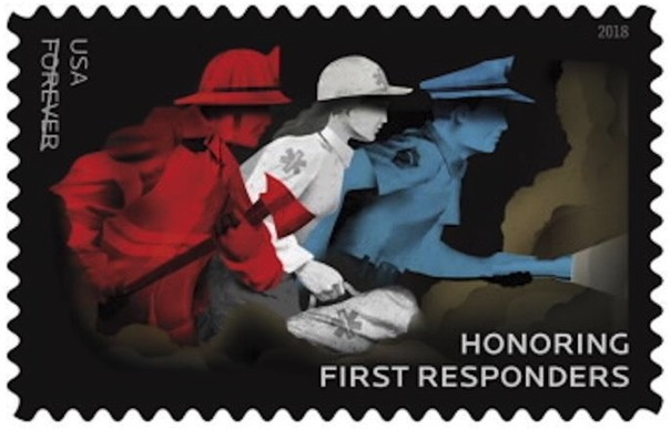 First Responders Stamp