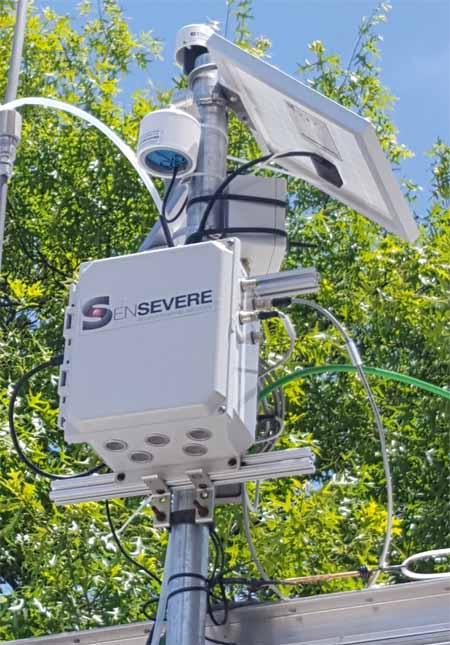 smoke monitor air quality sensors