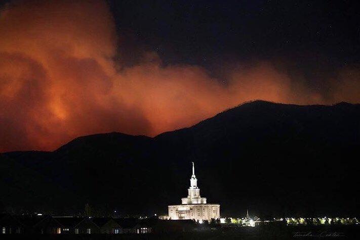 Smoke Pole Creek Bald Mountain Fires