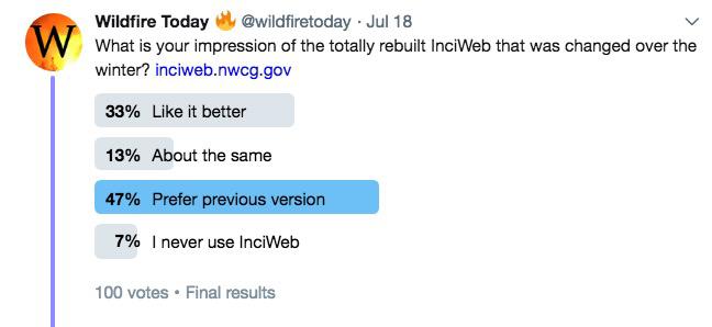 inciWeb poll change new