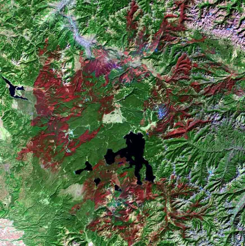 Yellowstone National Park 1988 wildfires