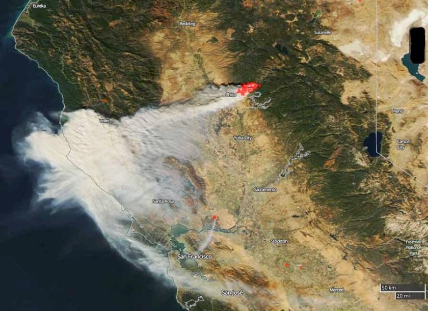 smoke Camp Fire California