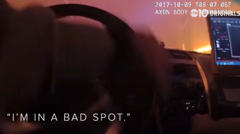 body cam tubbs fire wildfire