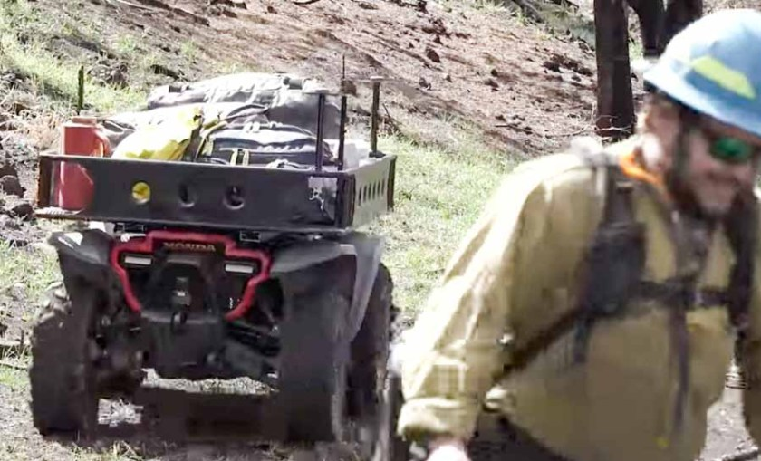 Honda Autonomous firefighter vehicle