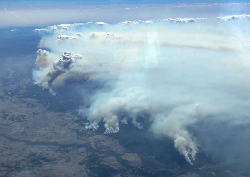 Wallangarra bushfire NSW Australia