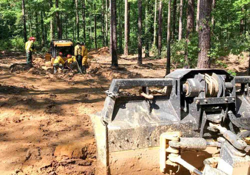 Mississippi Equipment Operator Training firefighting