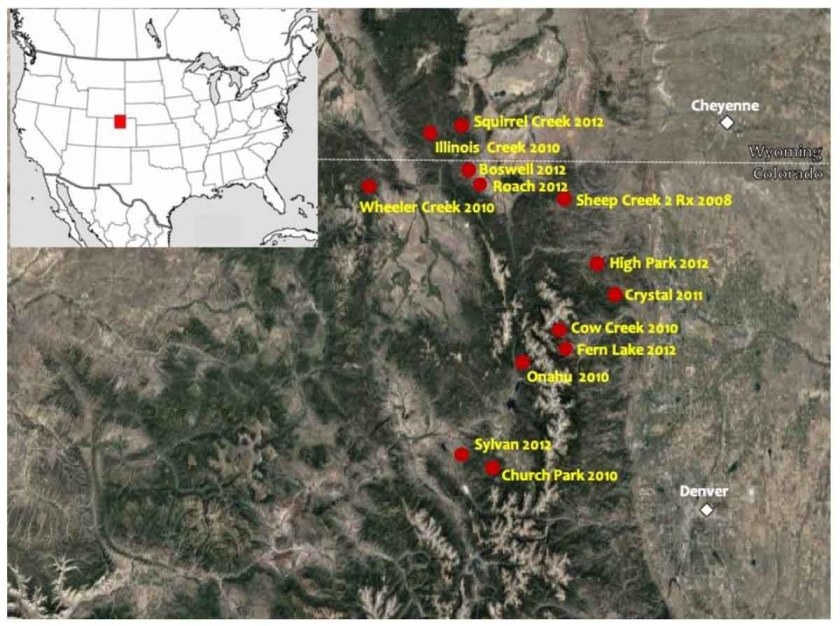 surprising fire behavior beetle-attacked lodgepole forest fires