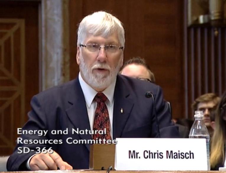 Chris Maisch, Alaska State Forester