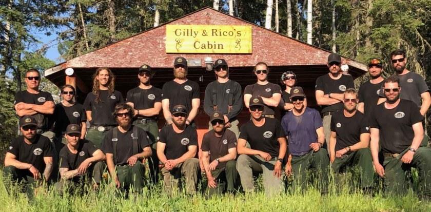 hotshot fire crew Alberta