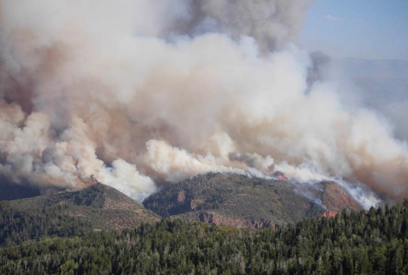 Pole Creek Bald Mountain Fires