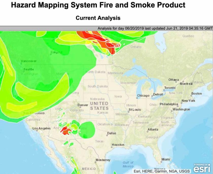 smoke Woodbury Fire map wildfire