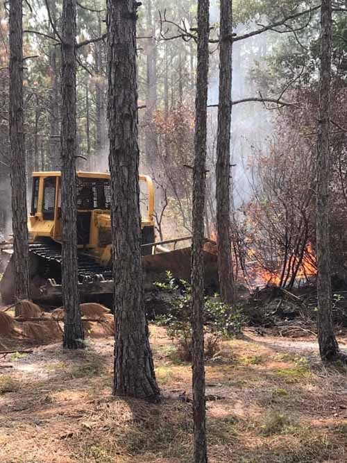 Squires Fire Pender County, North Carolina