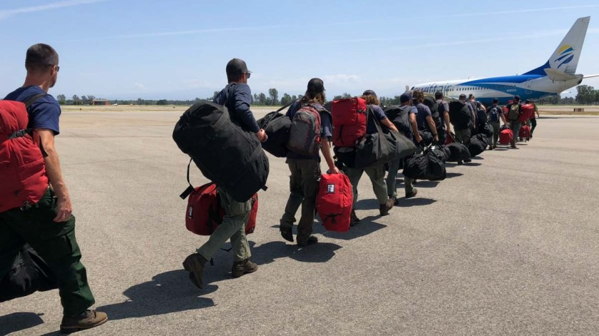 Hotshot crews mobilizing Alaska