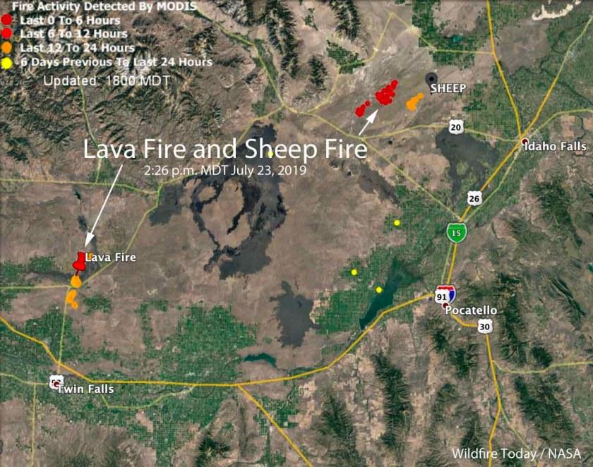 Lava Fire Sheep Fire