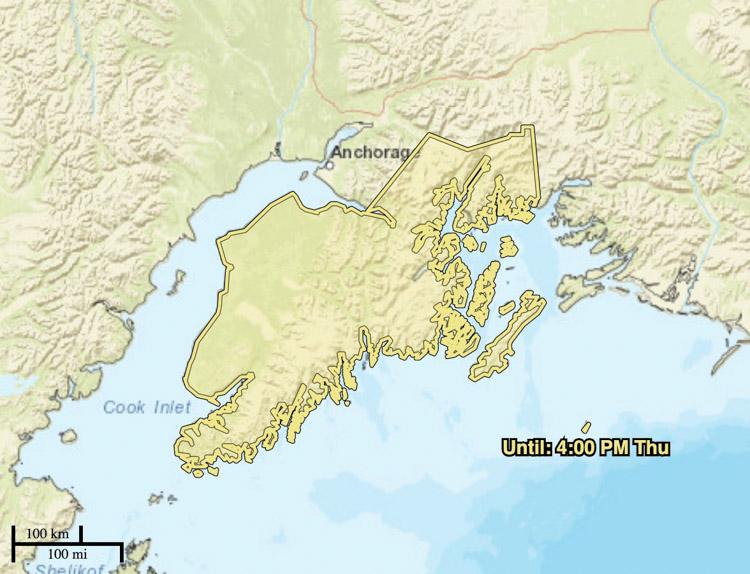 smoke advisory for the Kenai Peninsula