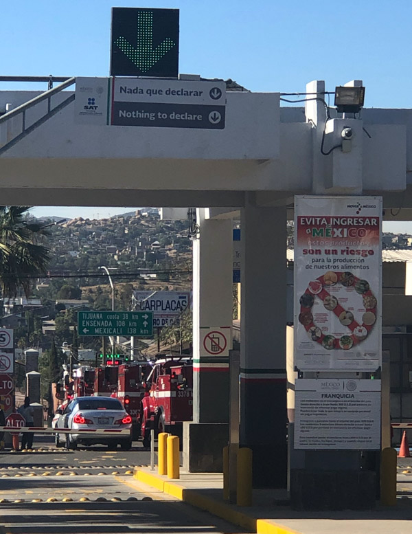 CAL FIRE engines cross border into Mexico